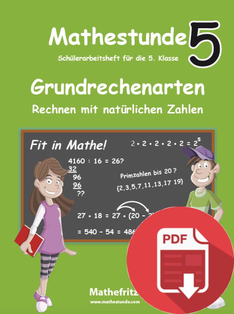 PDF Download - Mathestunde 5 Grundrechenarten Rechnen mit ...